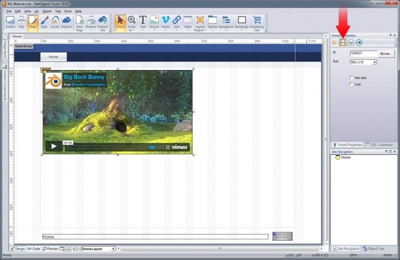 Placing Media - Documentation
