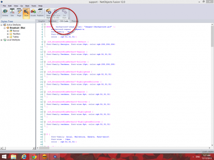 find unused css code to center